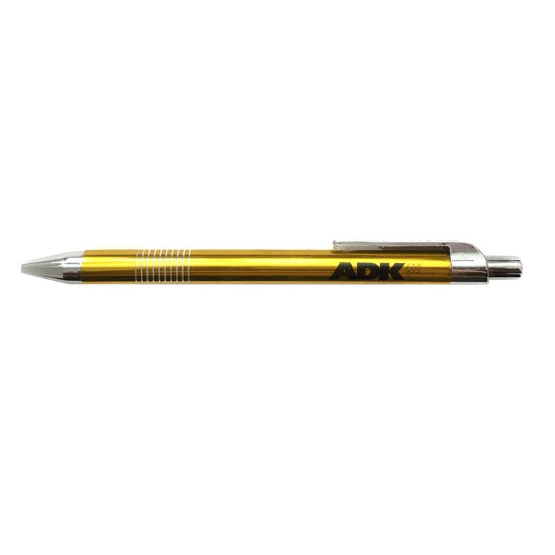 Kuličková tužka ADK žlutá