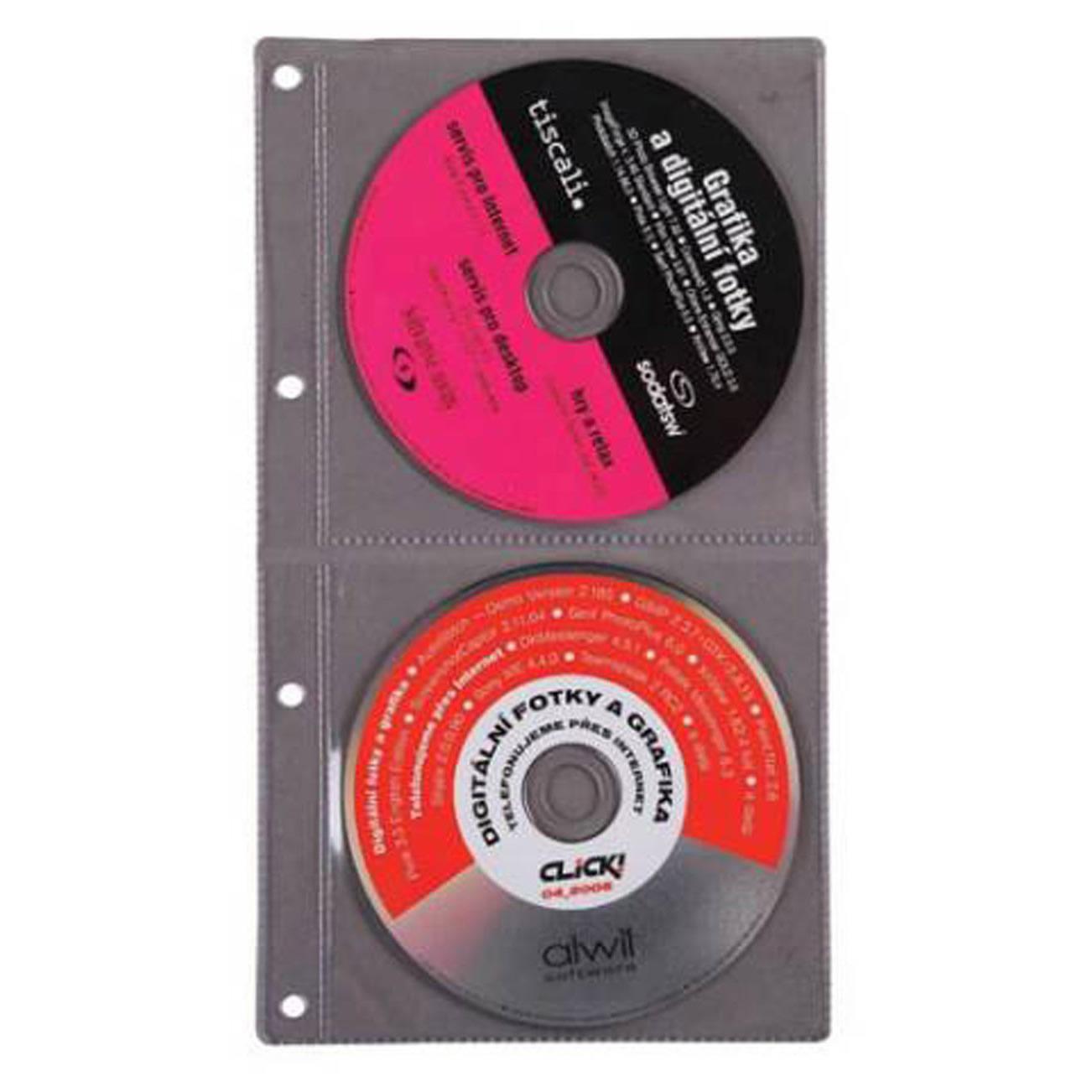 Obal na CD A4 plastový