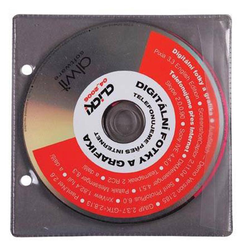 Obal na CD A5 plastový