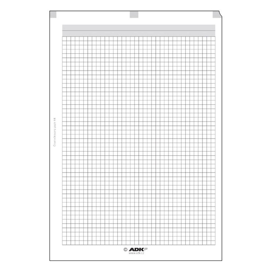 Formulář Čtverečkovaný papír A4 (5 listů)