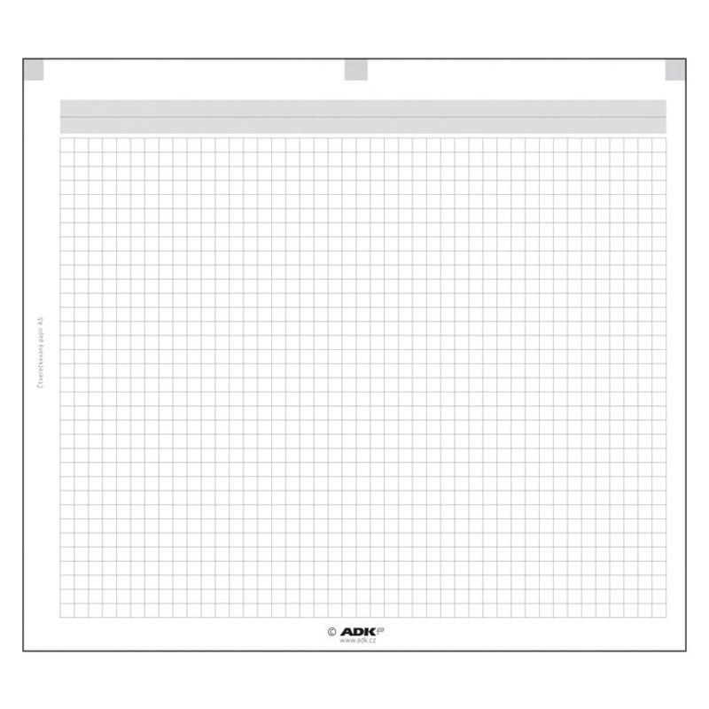 Formulář Čtverečkovaný papír A6 (2 dvojlisty)