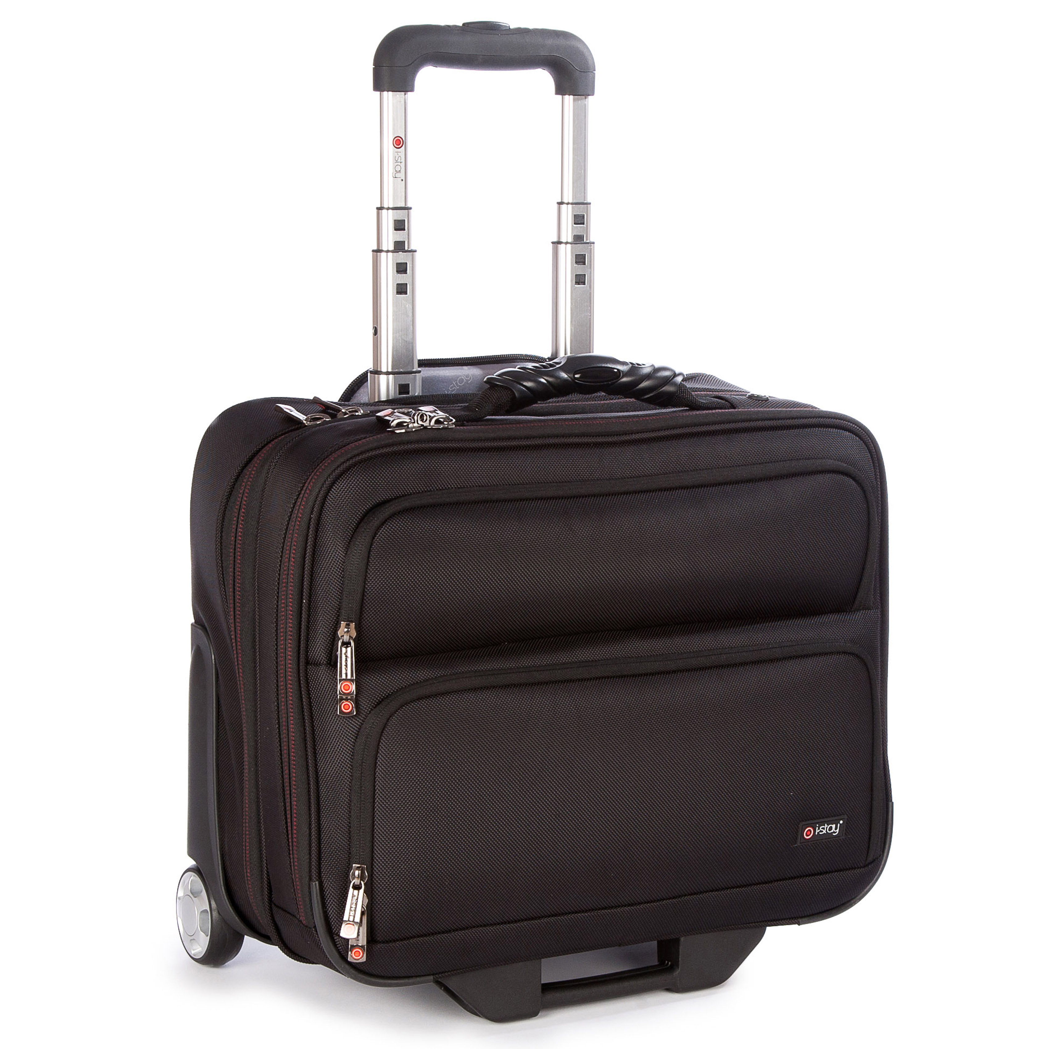 """Cestovní kufr s kapsou na notebook 15,6"""" i-stay Fortis Trolley"""