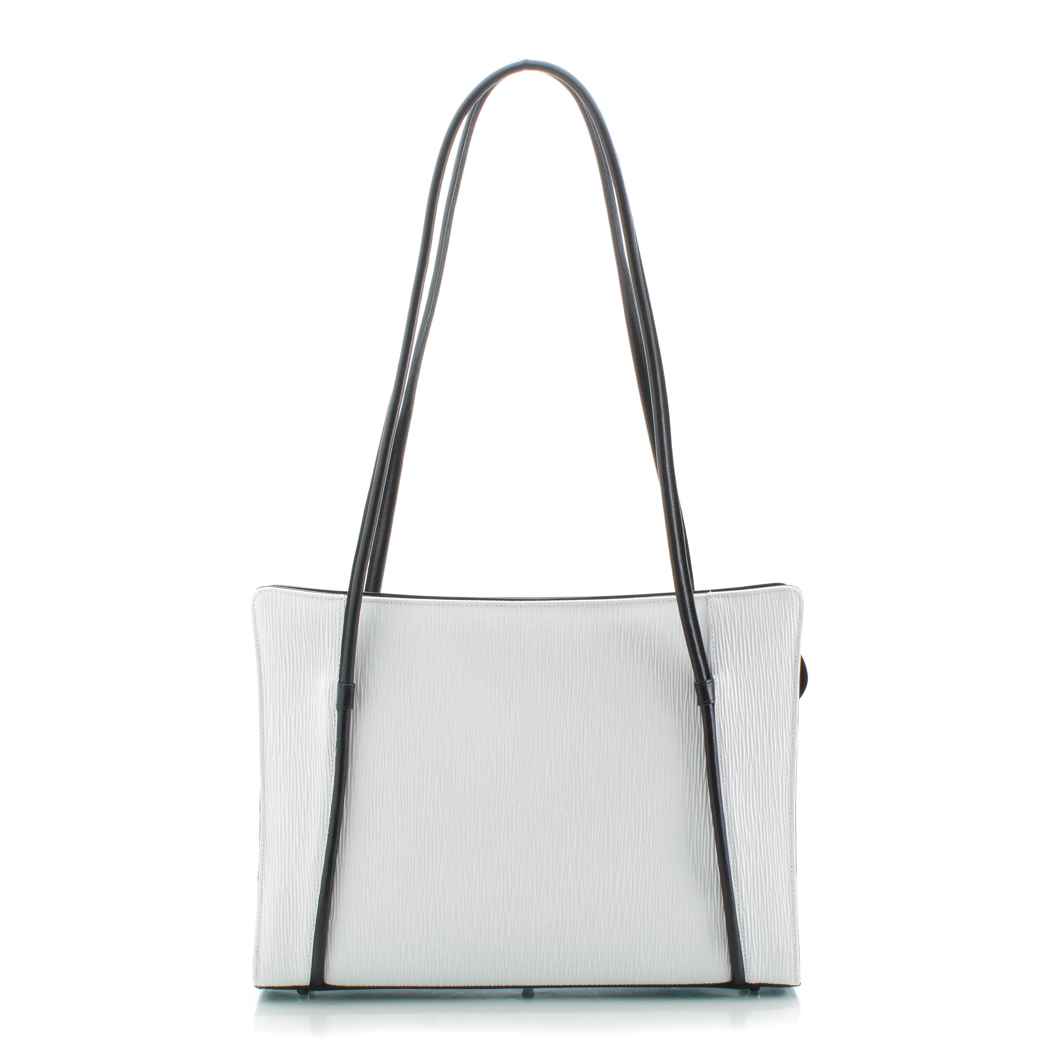 Business kabelka ADK Madeira XL (kol. Rondo) bílá/černá