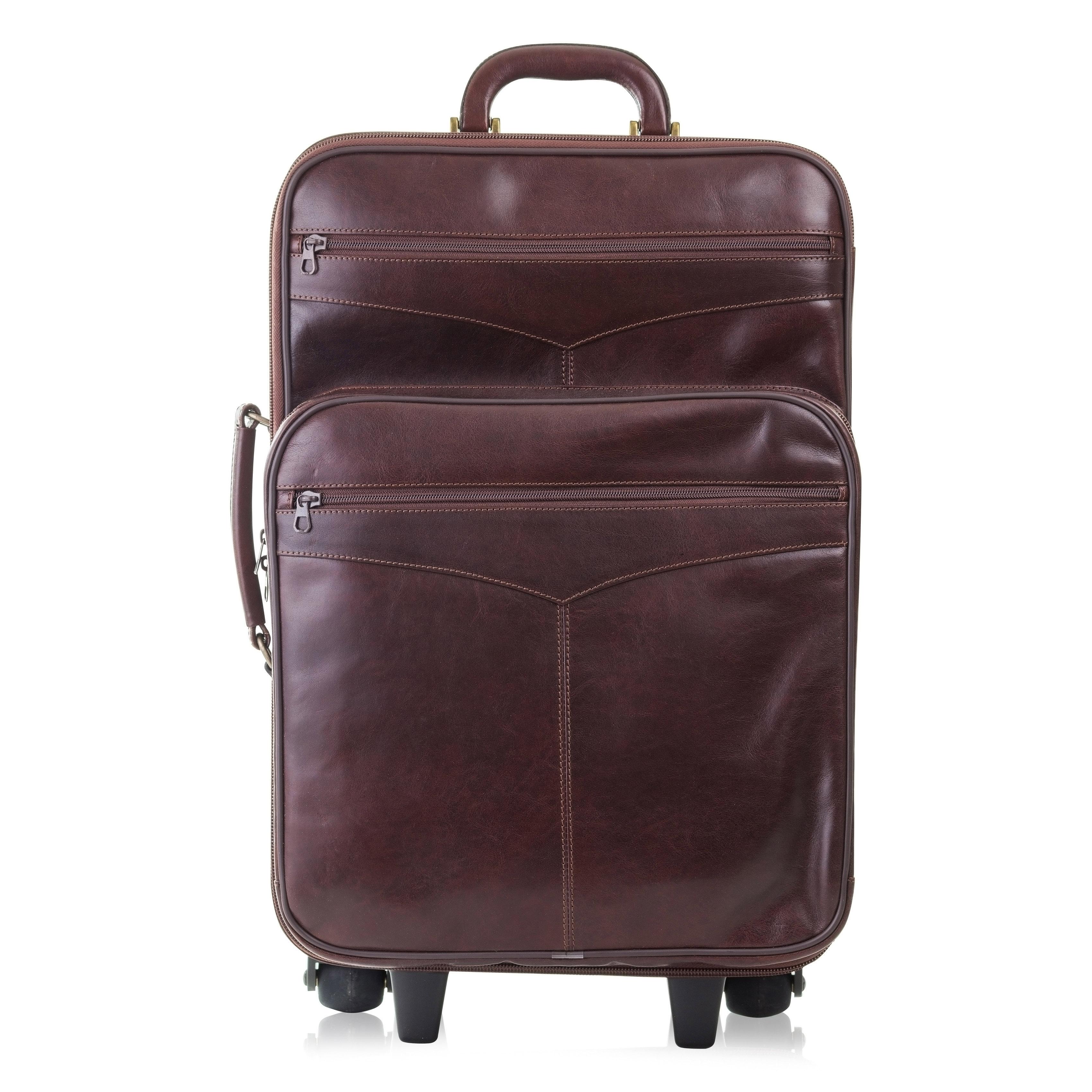 Palubní kufr ADK Brisbane v hnědé barvě