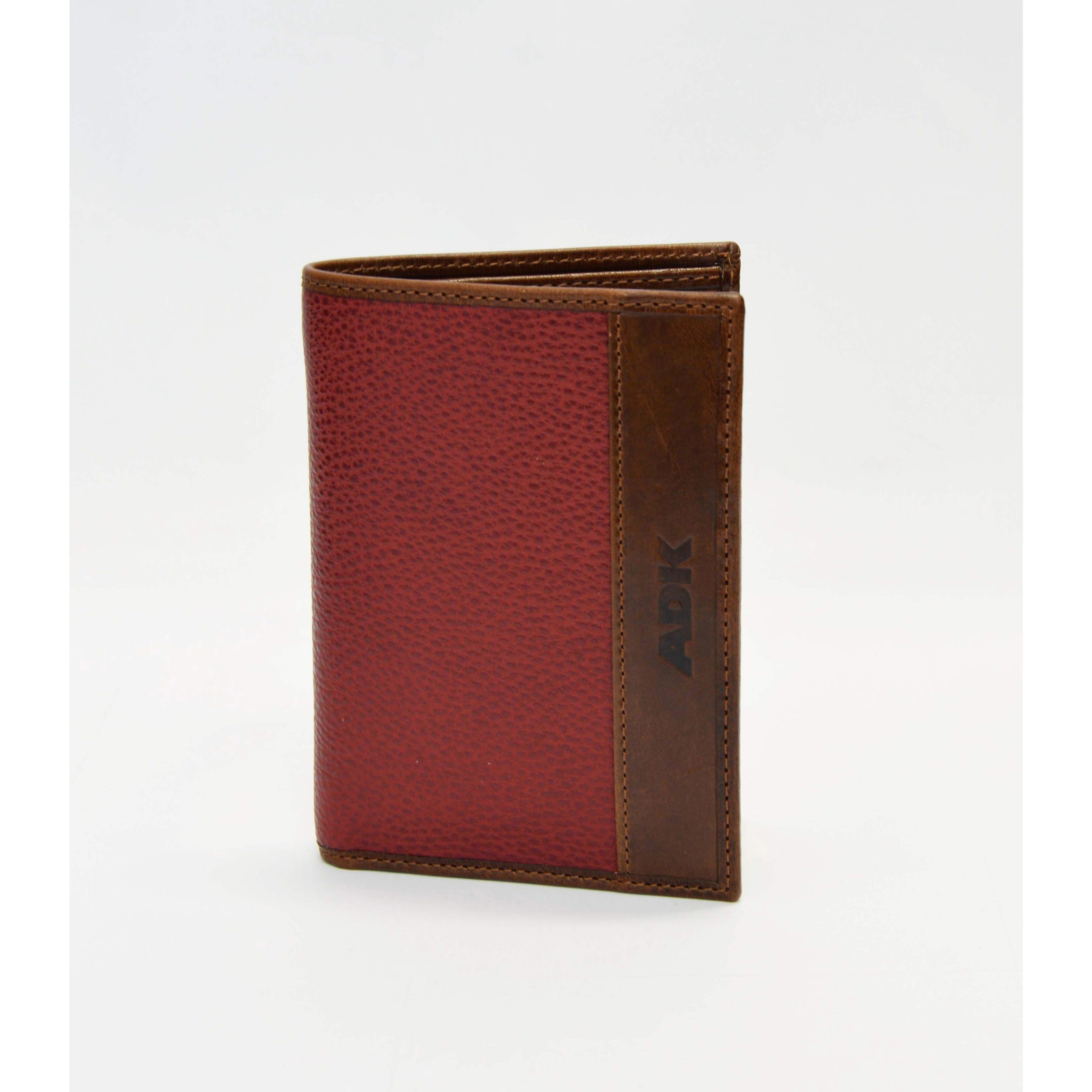 Pouzdro na karty, doklady a bankovky ADK Spring červené