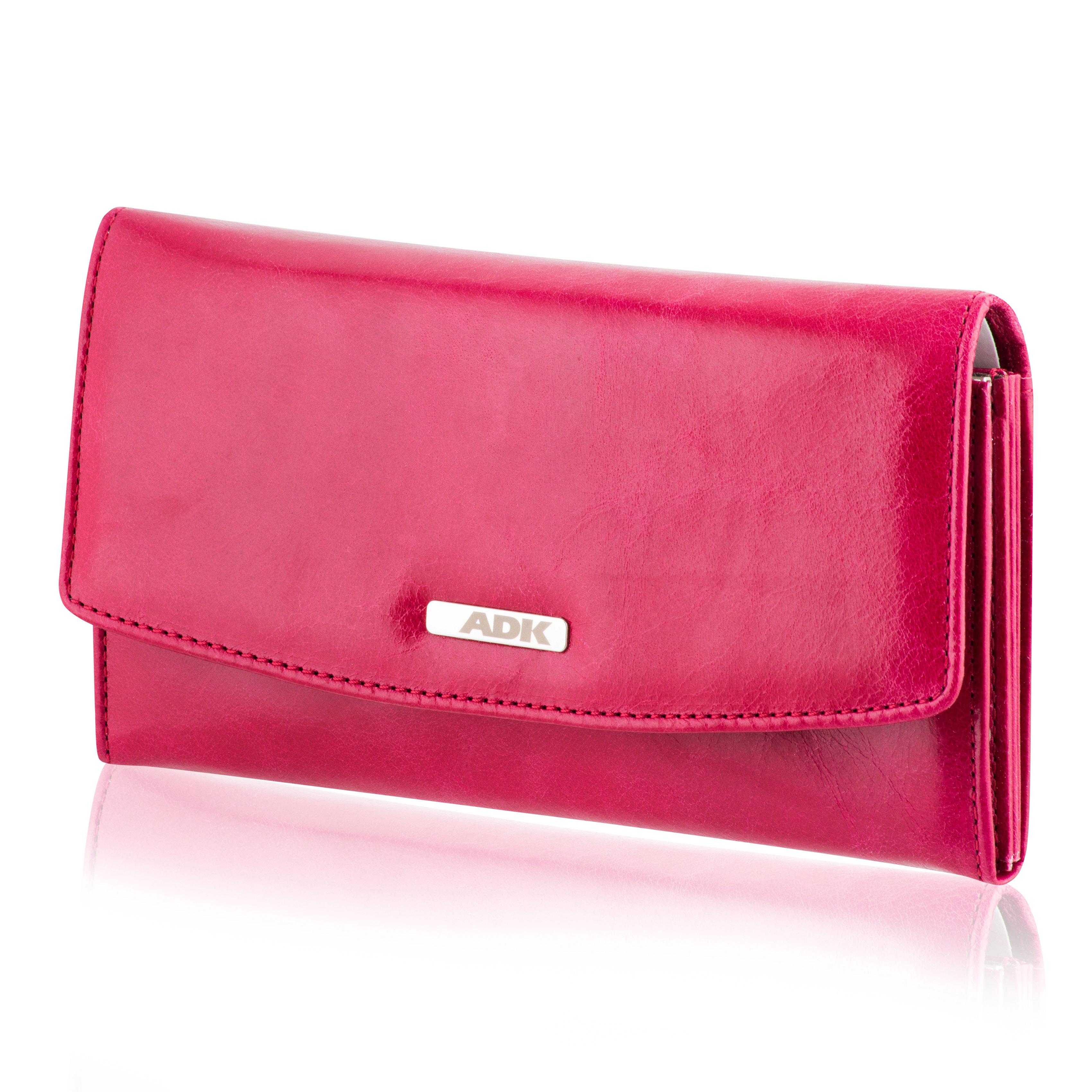 Dámská peněženka ADK Fiesta RFID červená