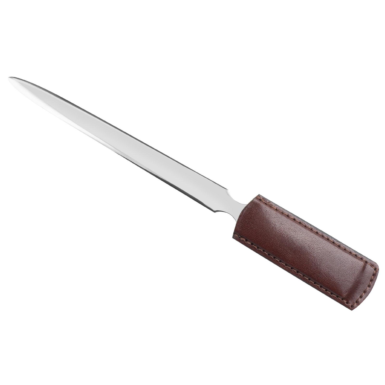 Nůž na dopisy ADK Oxford hnědý