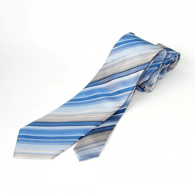 Lee Oppenheimer kravata modrá s pruhy b75845bccd