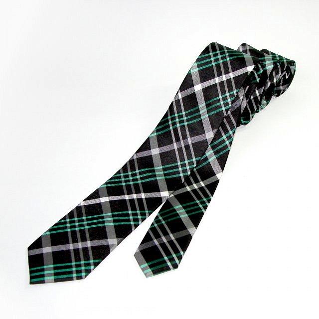 de5408700b7 Lee Oppenheimer kravata černo-zelená