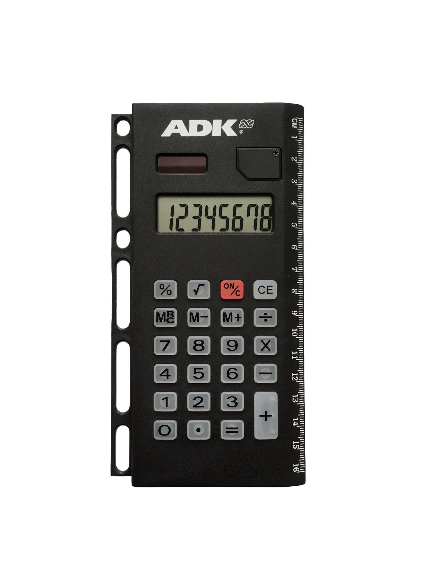 Závěsná kalkulačka ADK pro A4, A5 i A6