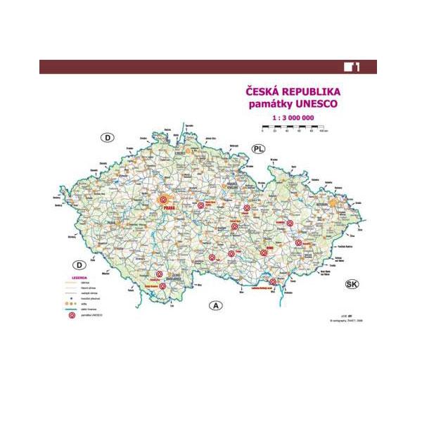 Infomapy Zajímavosti ČR A5 (sada) PŮVODNÍ DESIGN