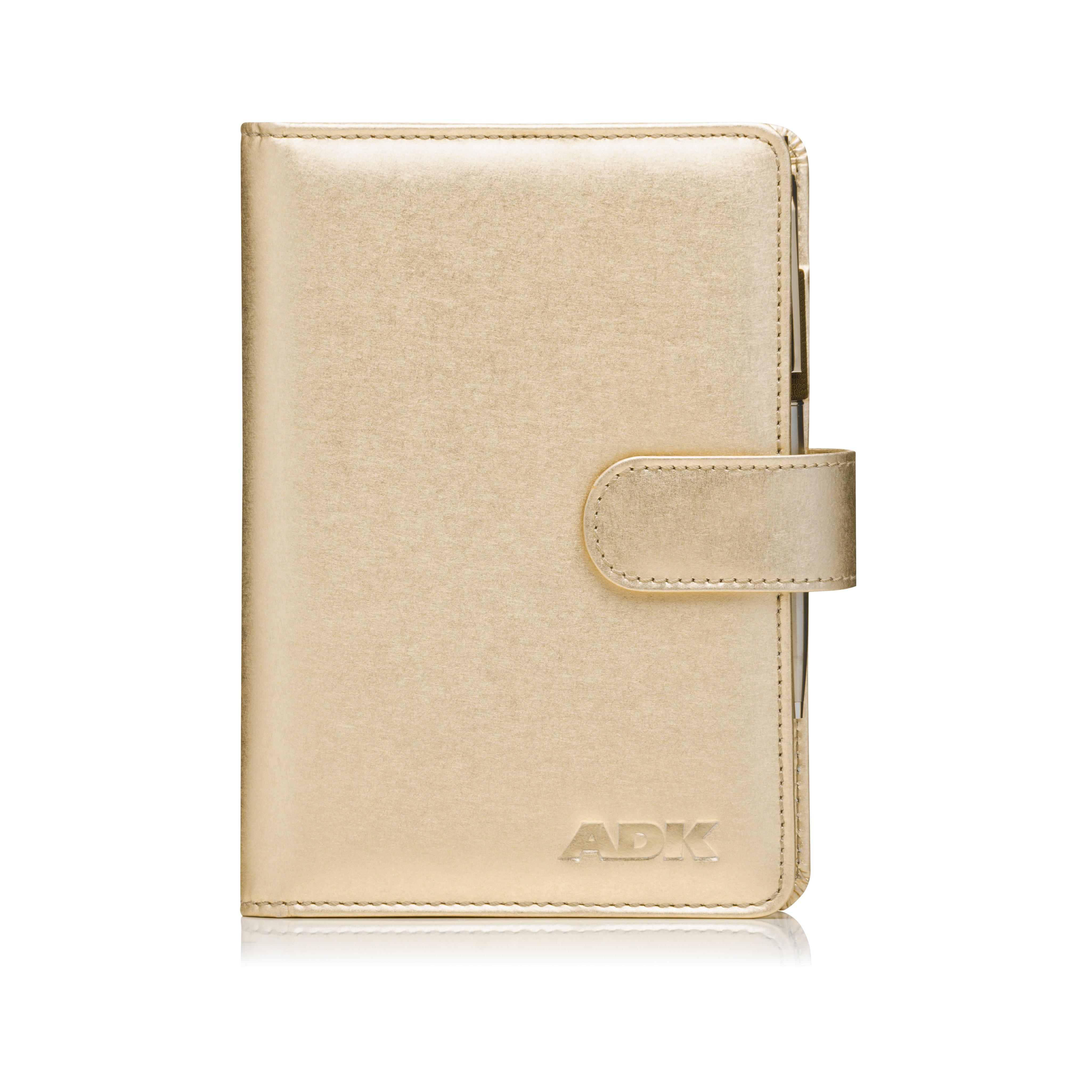 Diář ADK Gold 2021 zlatý