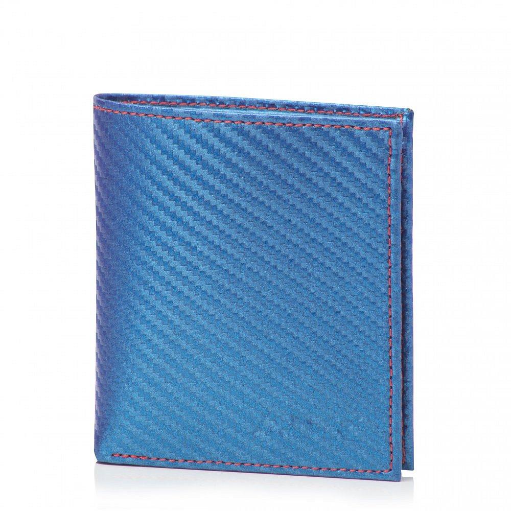 Pánská peněženka ADK Carbon modrá