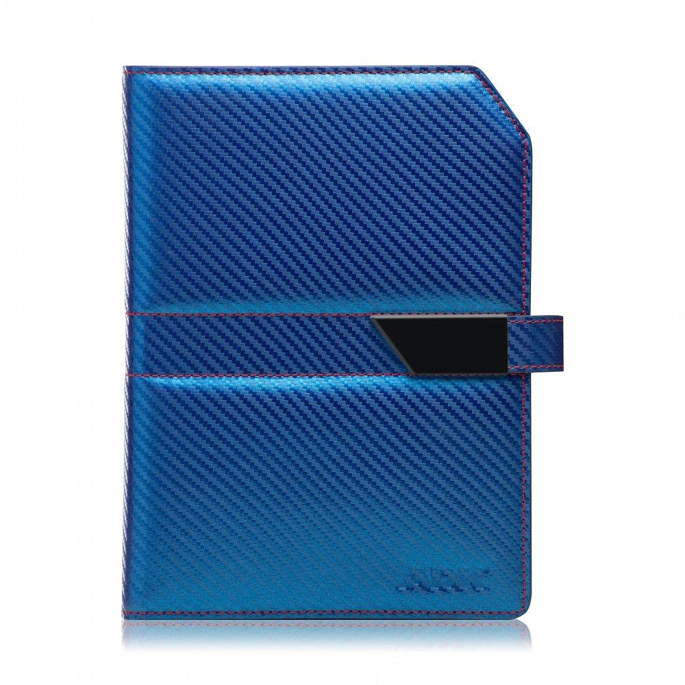 Diář ADK Carbon5 Slim 2021 modrý