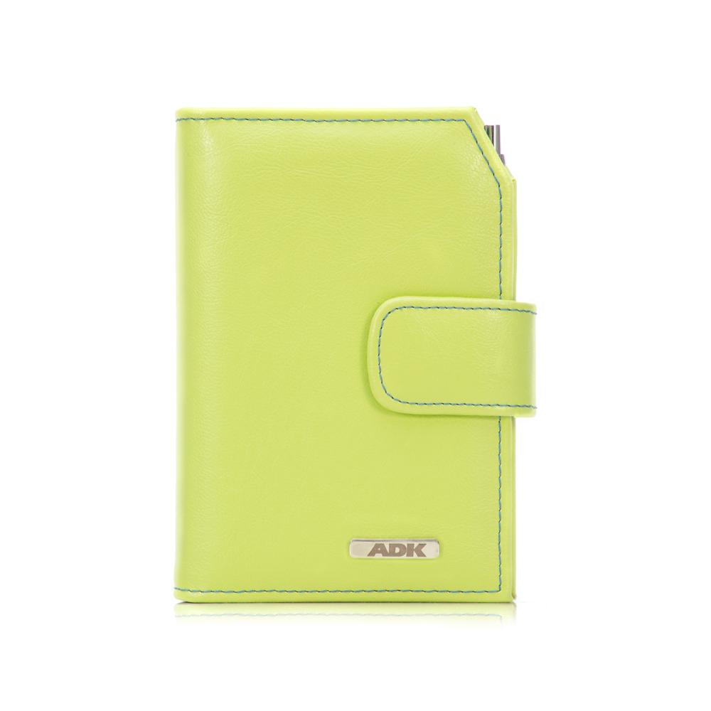 Diář ADK Finesa7 2021 zelený se zelenou zápinkou
