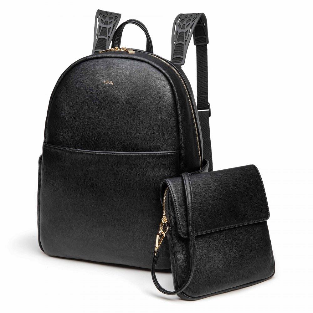 Městský dámský batoh 2in1 i-stay Lux černý