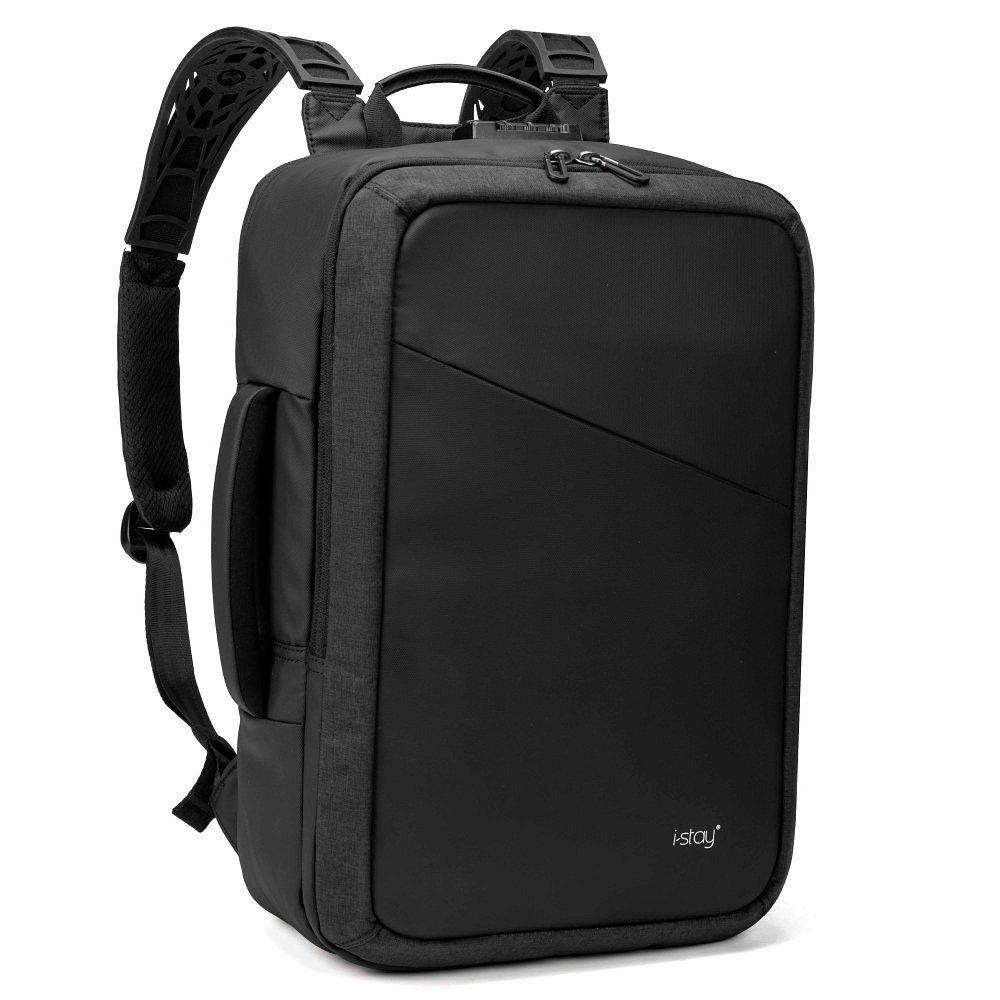 Palubní zavazadlo 2in1 na notebook 15,6″ i-stay Overnight Backpack šedé