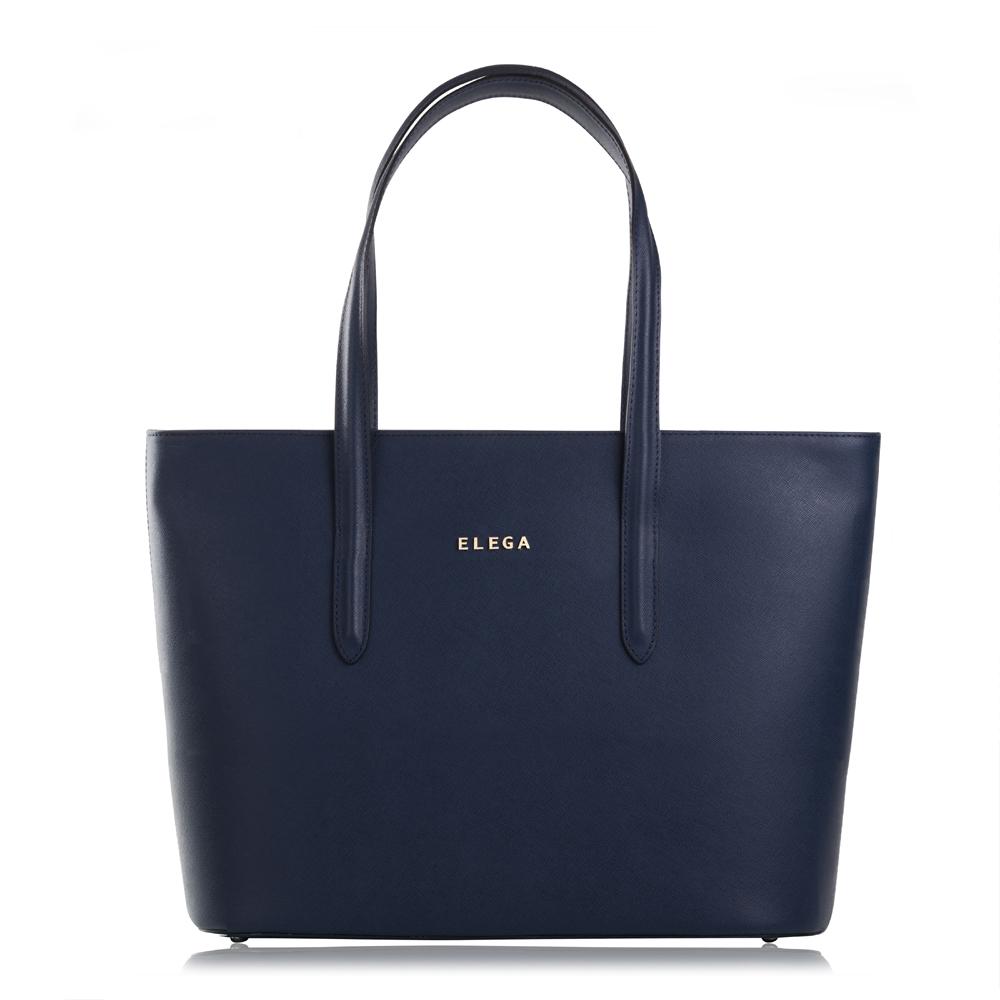 Kabelka shopperka Neapol Mini Simone modrá