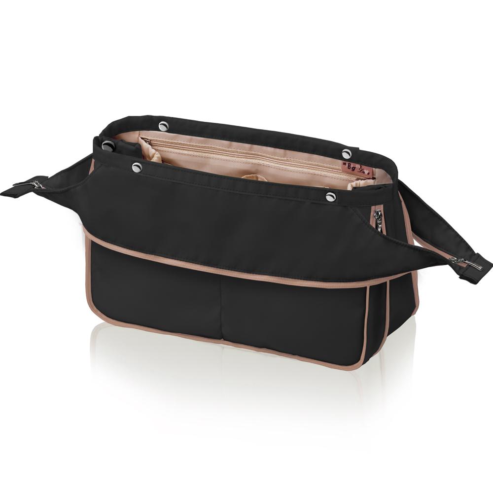 Organizér do kabelky MyBagMyLove Deluxe černý/béžový