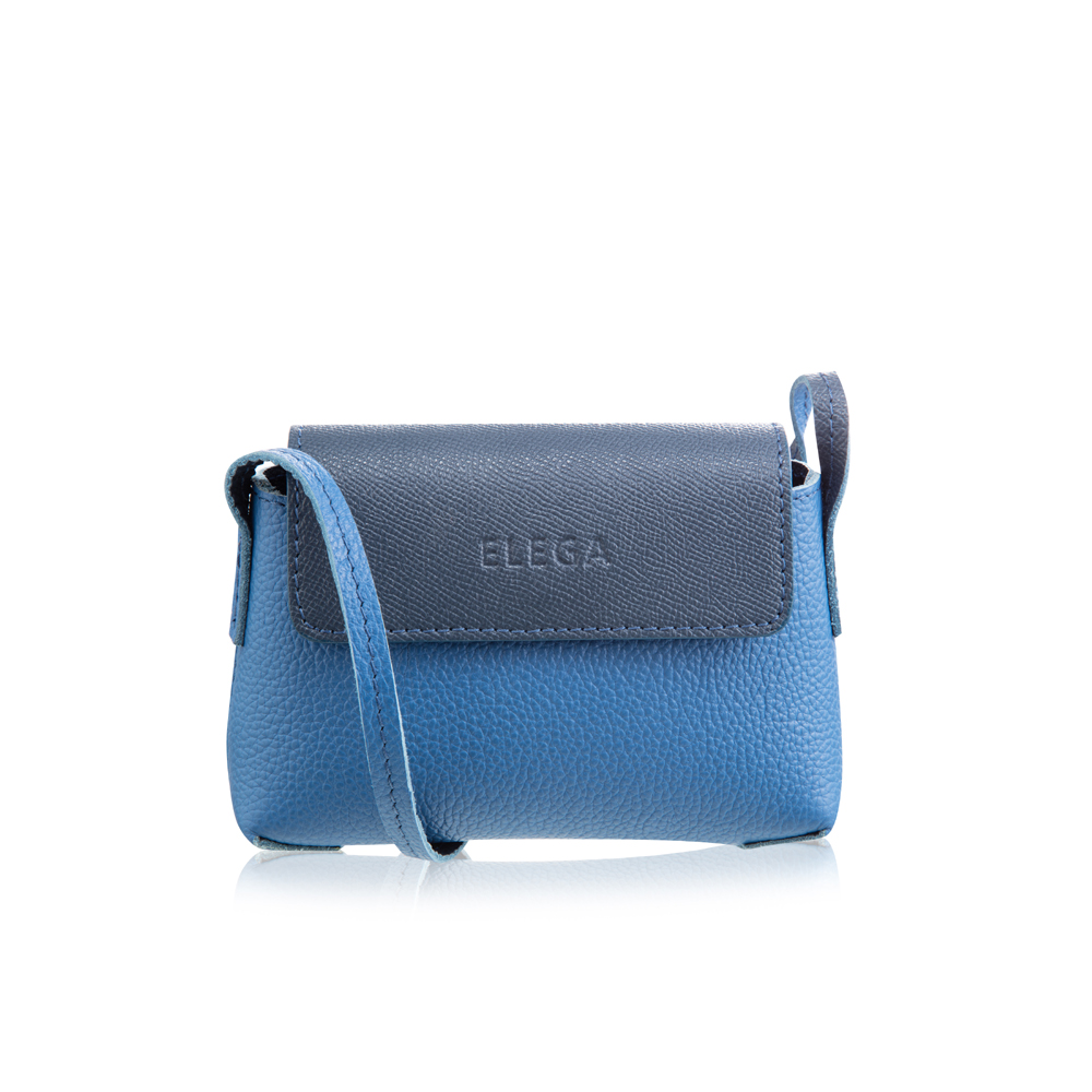 Kabelka ELEGA Rimini Ultra Mini modrá